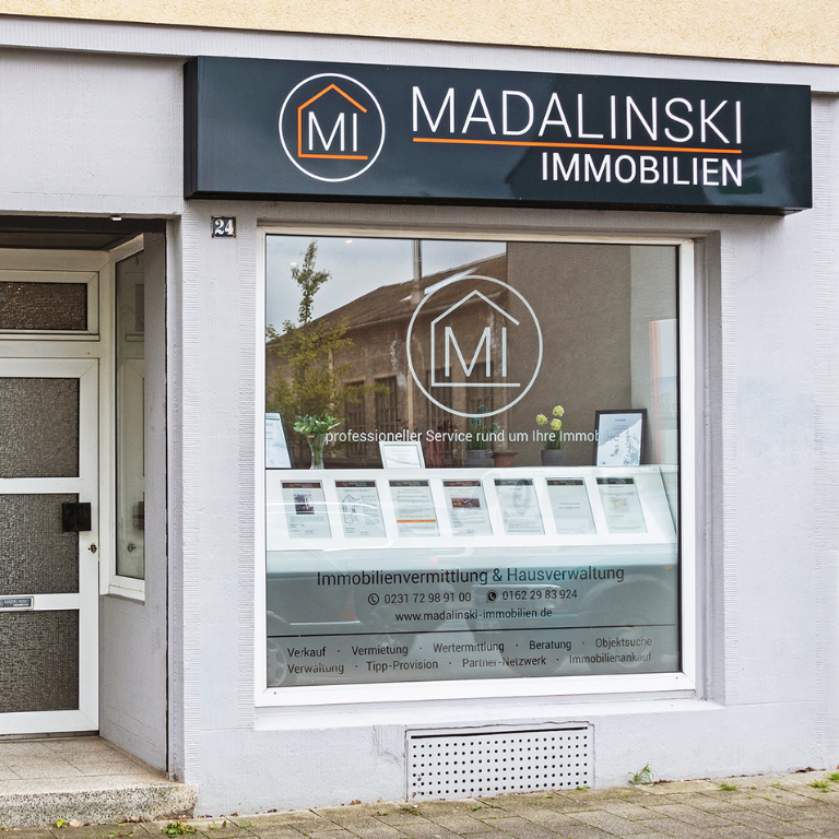 Madalinski Immobilien Dortmund Büro